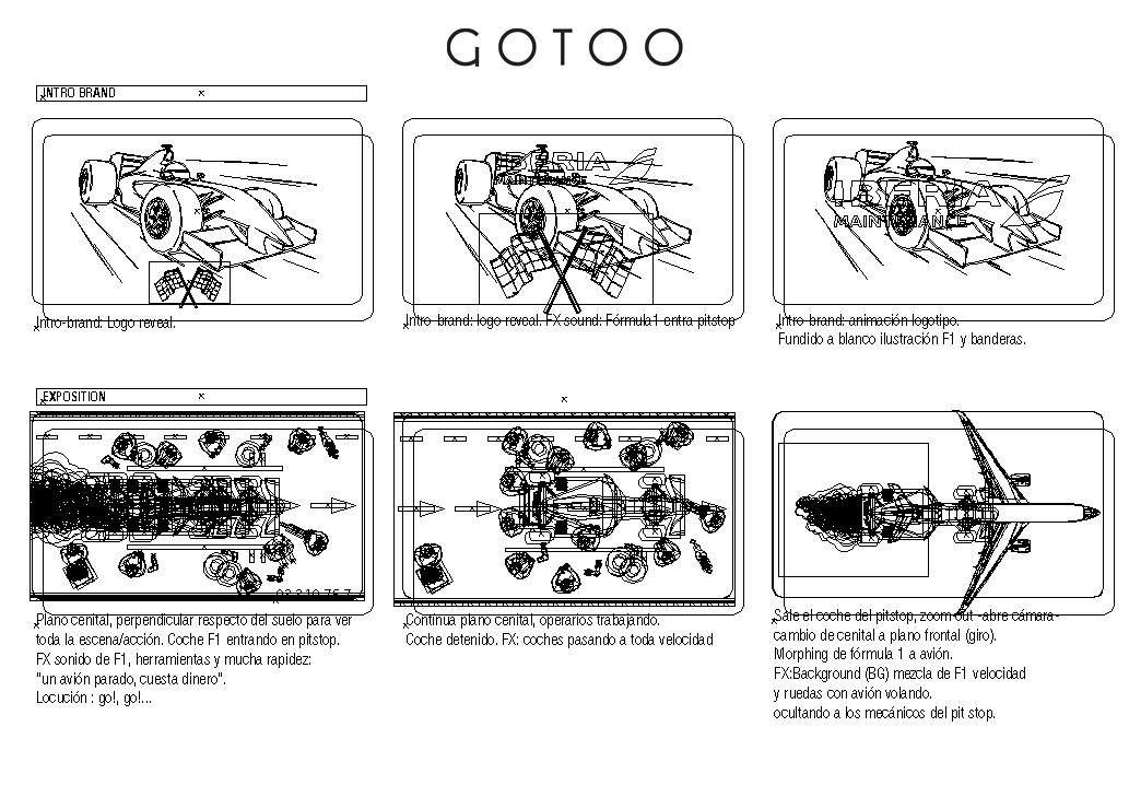 storyboard vector